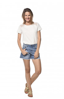Short Short Star Woman S18J887W (35225) - DEELUXE-SHOP