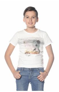 T-Shirt ADVENTURE Garçon S18114B (35259) - DEELUXE