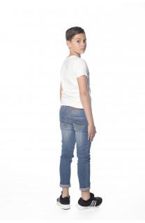 T-Shirt ADVENTURE Garçon S18114B (35260) - DEELUXE