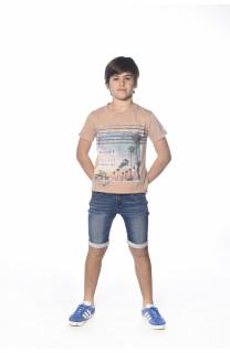 T-Shirt ADVENTURE Garçon S18114B (35263) - DEELUXE