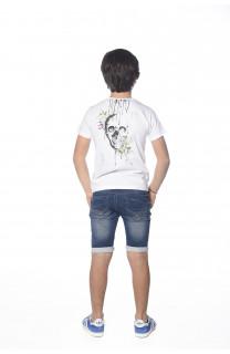 T-shirt Skool Boy S18150B (35285) - DEELUXE-SHOP
