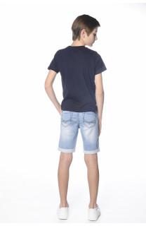 T-shirt T-shirt Clyde Boy S18178B (35320) - DEELUXE-SHOP
