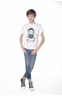 T-shirt T-shirt Clyde Boy S18178B (35323) - DEELUXE-SHOP