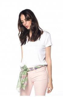 T-Shirt CLASH Femme S18128W (35456) - DEELUXE