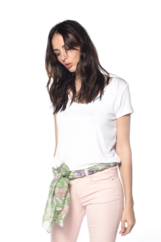 T-shirt Clash Woman S18128W (35456) - DEELUXE-SHOP