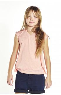 T-Shirt HONEY Fille S18139G (35480) - DEELUXE