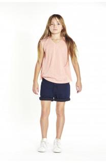 T-Shirt HONEY Fille S18139G (35481) - DEELUXE