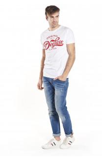 T-Shirt WRITE Homme S18142 (36239) - DEELUXE