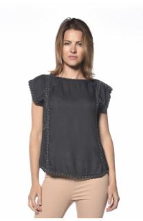 T-shirt Rebel Woman S18112W (36297) - DEELUXE-SHOP