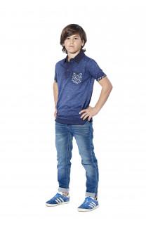 Polo shirt Adamson Boy S18226B (37009) - DEELUXE-SHOP