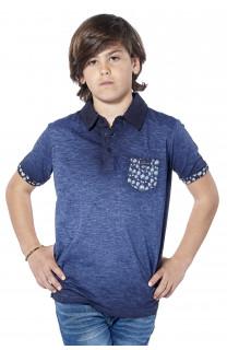 Polo shirt Adamson Boy S18226B (37010) - DEELUXE-SHOP