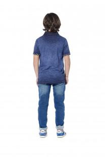 Polo shirt Adamson Boy S18226B (37011) - DEELUXE-SHOP