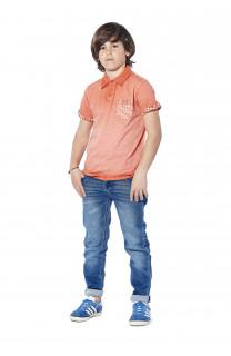 Polo shirt Adamson Boy S18226B (37012) - DEELUXE-SHOP