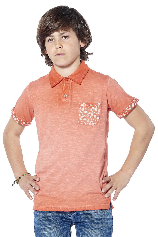 Polo shirt Adamson Boy S18226B (37013) - DEELUXE-SHOP
