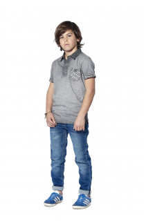 Polo shirt Adamson Boy S18226B (37015) - DEELUXE-SHOP
