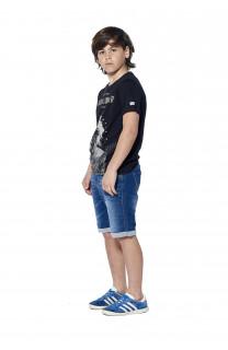 T-Shirt BLACKAWL Garçon S18107B (37030) - DEELUXE