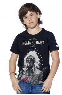 T-Shirt BLACKAWL Garçon S18107B (37031) - DEELUXE