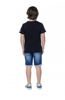 T-Shirt BLACKAWL Garçon S18107B (37032) - DEELUXE