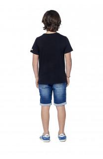 T-Shirt BLACKAWL Garçon S18107B (37032) - DEELUXE
