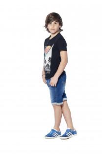 T-Shirt T-shirt Enjoy Boy S18186B (37042) - DEELUXE-SHOP