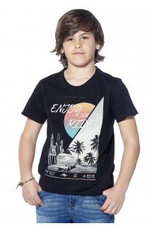 T-Shirt T-shirt Enjoy Boy S18186B (37043) - DEELUXE-SHOP