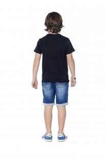 T-Shirt T-shirt Enjoy Boy S18186B (37044) - DEELUXE-SHOP