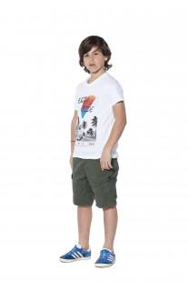 T-Shirt T-shirt Enjoy Boy S18186B (37045) - DEELUXE-SHOP