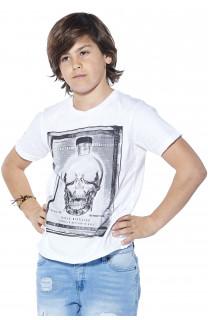 T-Shirt CRYSTAL Garçon S18184B (37055) - DEELUXE