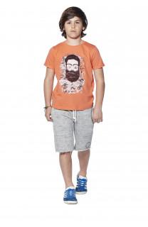 T-shirt T-shirt Clyde Boy S18178B (37063) - DEELUXE-SHOP