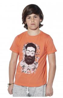 T-shirt T-shirt Clyde Boy S18178B (37064) - DEELUXE-SHOP