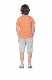 T-shirt T-shirt Clyde Boy S18178B (37065) - DEELUXE-SHOP