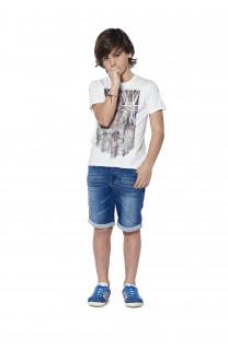 T-shirt T-SHIRT Flagy Boy S18160B (37069) - DEELUXE-SHOP