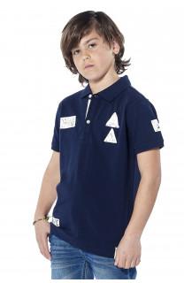 Polo shirt Voile Boy S18210B (37087) - DEELUXE-SHOP