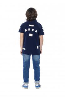 Polo shirt Voile Boy S18210B (37088) - DEELUXE-SHOP