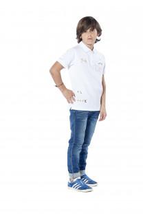 Polo shirt Voile Boy S18210B (37089) - DEELUXE-SHOP