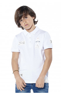 Polo shirt Voile Boy S18210B (37090) - DEELUXE-SHOP