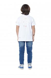 Polo shirt Voile Boy S18210B (37091) - DEELUXE-SHOP