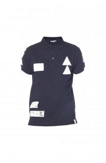 Polo shirt Voile Boy S18210B (37092) - DEELUXE-SHOP