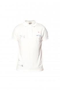 Polo shirt Voile Boy S18210B (37094) - DEELUXE-SHOP