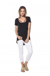 T-Shirt CLASH Femme S18128W (37323) - DEELUXE