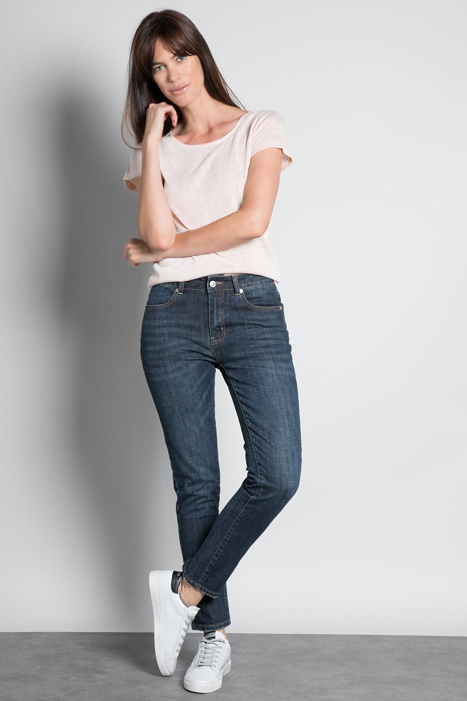 T-shirt T-SHIRT GLITTER Woman W18113W (37377) - DEELUXE-SHOP