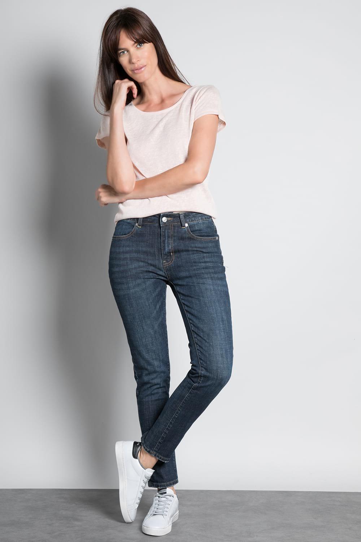 T-Shirt GLITTER Femme W18113W (37377) - DEELUXE
