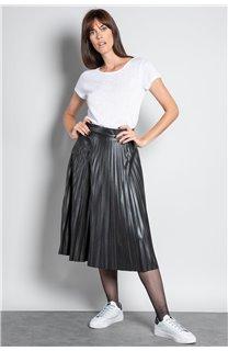 T-Shirt GLITTER Femme W18113W (37382) - DEELUXE