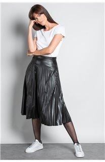 T-Shirt GLITTER Femme W18113W (37383) - DEELUXE