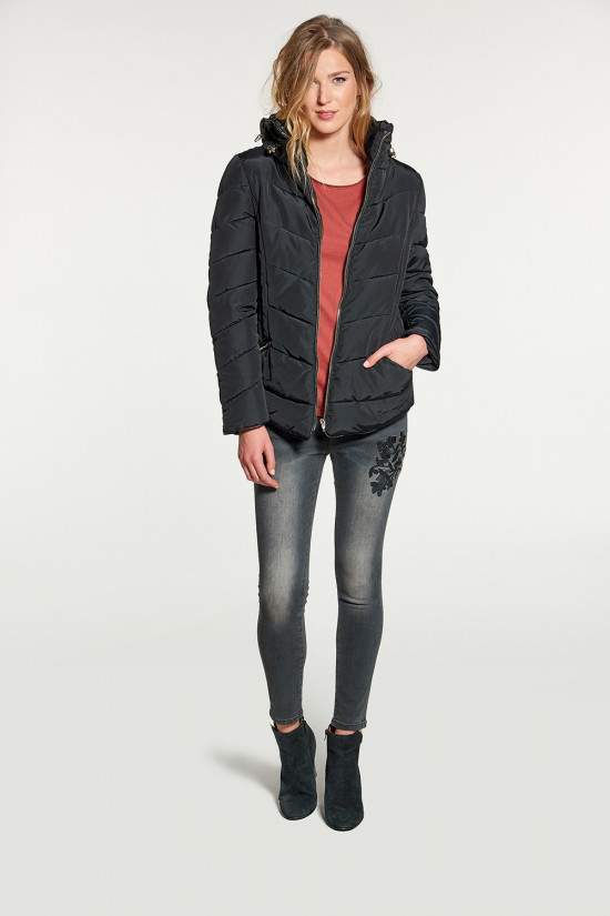 Puffy Jacket ALYA Woman W18605W (41319) - DEELUXE-SHOP