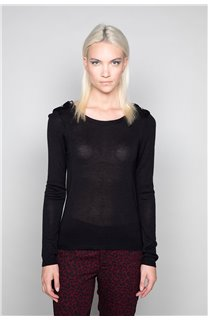 Sweater SWEATER LACY Woman W18316W (37478) - DEELUXE-SHOP