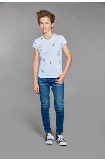 T-shirt T-shirt DEVIL Boy W18150B (37577) - DEELUXE-SHOP