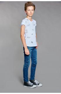 T-Shirt DEVIL Garçon W18150B (37578) - DEELUXE