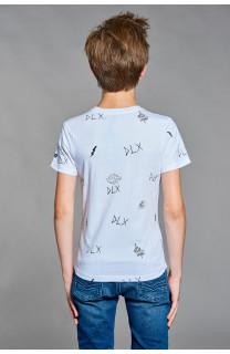T-shirt T-shirt DEVIL Boy W18150B (37579) - DEELUXE-SHOP