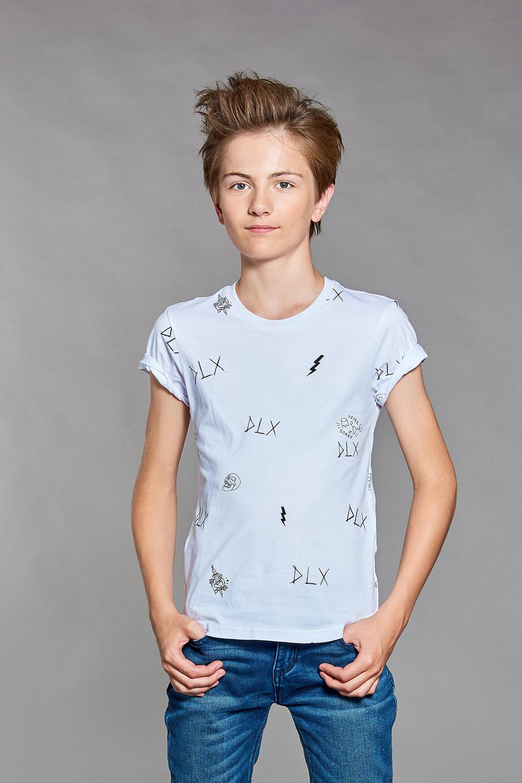 T-shirt T-shirt DEVIL Boy W18150B (37581) - DEELUXE-SHOP